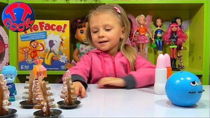 ✔ ФИКСИКИ. Видео для детей. Ярослава, Нолик и Симка проводят новые опыты. Выращиваем снег ✔
