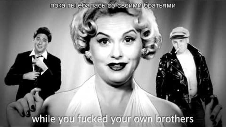 (русские субтитры) Cleopatra VS Marilyn Monroe. Epic Rap Battles of History Season 2.