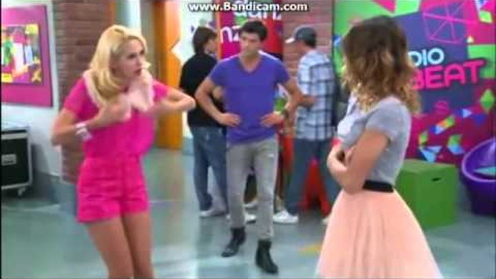 Violetta 2. Sezon 36. Bölüm- Diego Violetta'yı savunuyor.