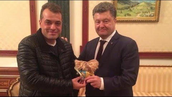 Советник Петра Порошенко Юрий Бирюков говорил в прямом эфире на русском языке