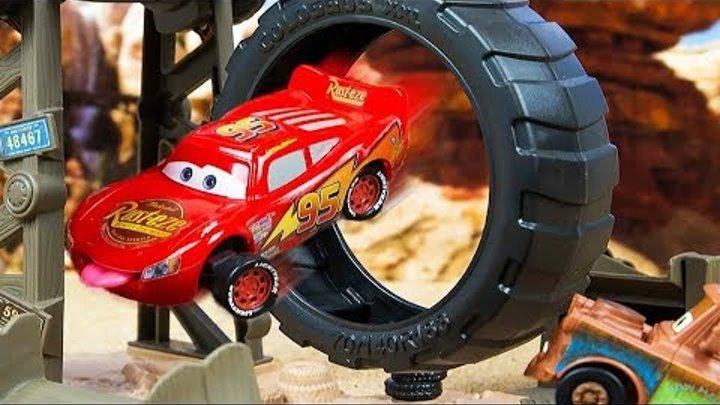 Мультики про Машинки Тачки 3 Молния Маквин новые машинки для детей Игры для мальчиков Disney Cars 3