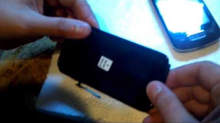 16. HTC Sensation XE Z715e Z710 замена тачскрина, ремонт. Как разобрать телефон?