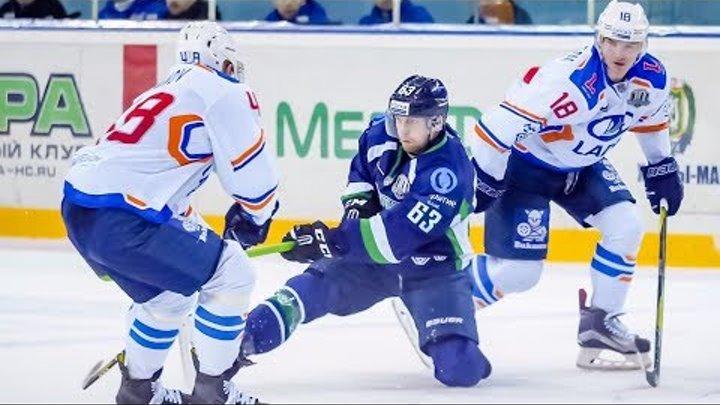 Хоккейная «Югра», забившая в первом периоде три шайбы подряд, в конце концов проиграла матч