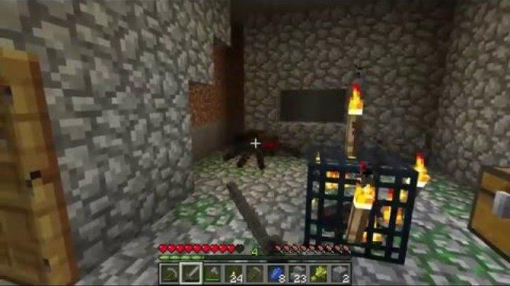 Майнкрафт выживание с Мистиком и Лагером. Survival Island часть 3. Мистик Макс Кирич