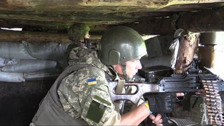 Ворожі снайпери активізувались під Мар'їнкою