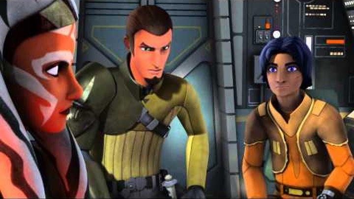 Star Wars:Rebels - Трейлер 2 сезона