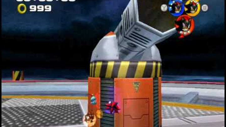 Sonic Heroes mod, Team Shadow Android