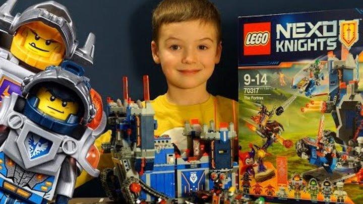 Lego Nexo Knights - Фортрекс Мобильная Крепость - 70317. Видео Обзор на русском языке. Кока Туб