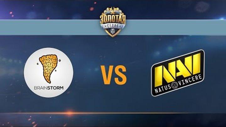 Brain Storm vs Natus Vincere - day 2 week 2 Season II Gold Series WGL RU 2016/17
