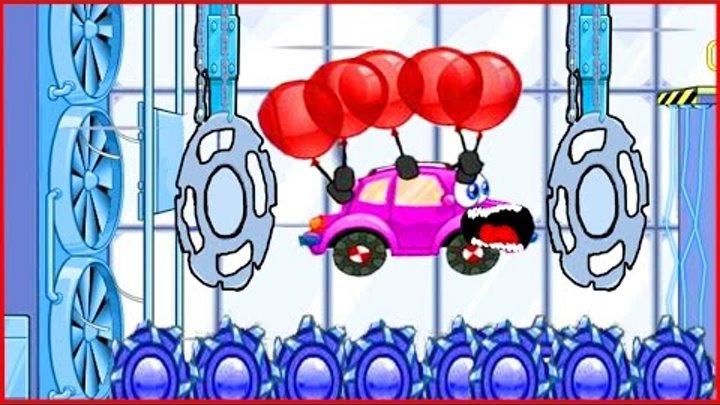 Вилли Wheely Мультик мультфильм игра для детей малышей про красную машинку