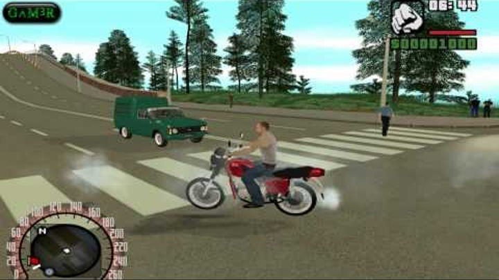 Gta San Andreas : Criminal Russia Beta 2 PC Gameplay - Comment -- HD