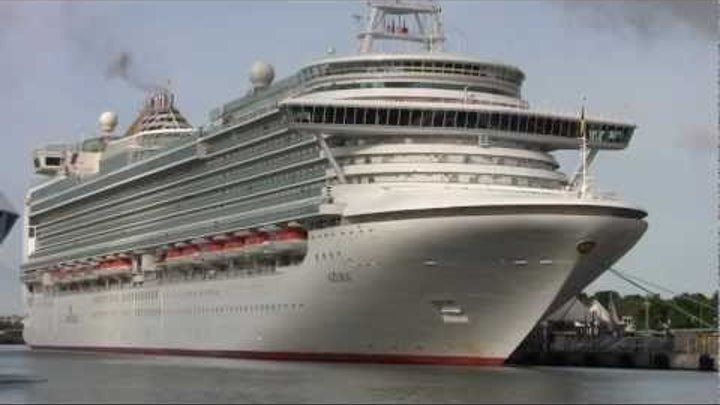 Newest P&O Liner AZURA for the first Time in Germany (June 15,2011)