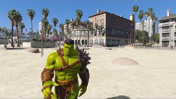 GTA 5 mod Planet Hulk - ГТА 5 моды - обзор и установка мода