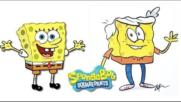 Spongebob Squarepants characters as The Loud House Characters