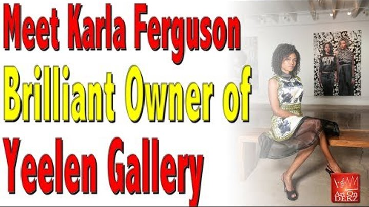 Meet Gallery Owner Karla Ferguson Reaction to Art on Dekz Art Basel Trip 2017 Video