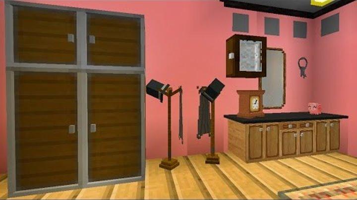 КОРИДОР и СПАЛЬНЯ в доме майнкрафт - Серия 35 - Minecraft - Строительный креатив 2