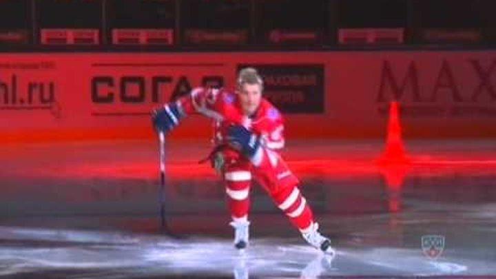 KHL All-Star Game 2011 - Матч всех Звезд -Круг на скорость