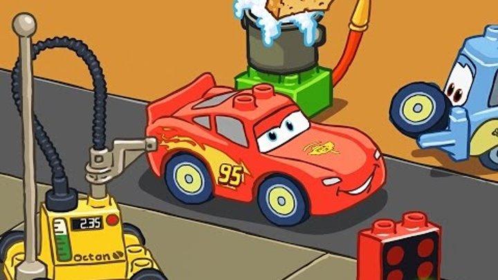 Мультфильм про машинки Развивающий мультик для детей Мультик машинки Тачки 2