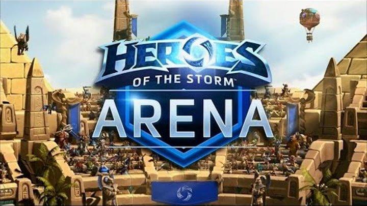 Арена Карателей обзор HeroesOfTheStorm 2016 10 22 New Arena Punitive Review Потасовка недели