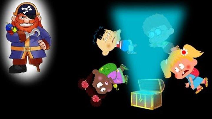 Куклы Пупсики и Пираты В поисках сокровищ Часть 1 Пиратский сундук Мультик для детей Дочки матери Ка