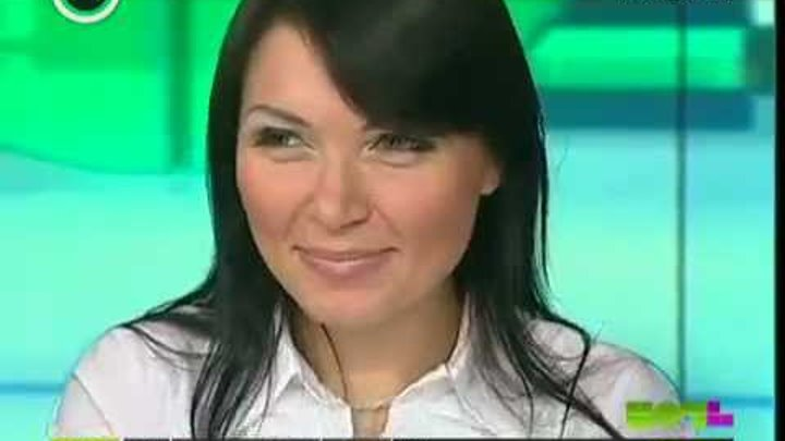 """Света """"Шоу ночь"""" на канале Москва 24 (23.10.2011)"""