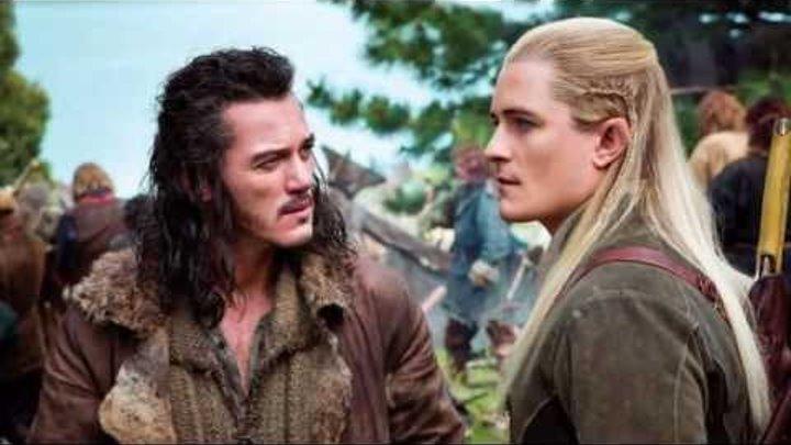 """O Hobbit 2 Desolação de Smaug """"Trailer"""""""