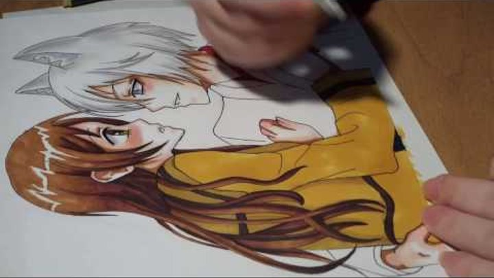 Очень приятно, Бог / Kamisama HAJIMEMASHITA / Very nice, God / Drawing Anime / Nanami and Tomoe