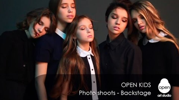 Photo shoots by Open Kids - Backstage - Open Art Studio