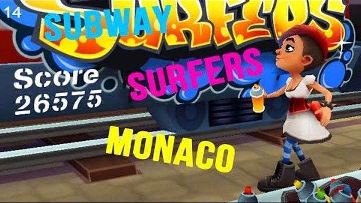 Мультики для детей Subway Surfers новые видео для детей Максим играет в детские игры #014