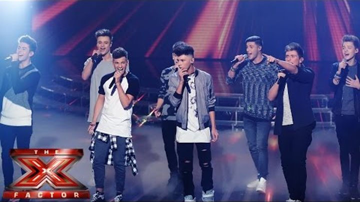 Stereo Kicks sing The Beatles' Let It Be/Hey Jude (Medley) | Live Week 3 | The X Factor UK 2014