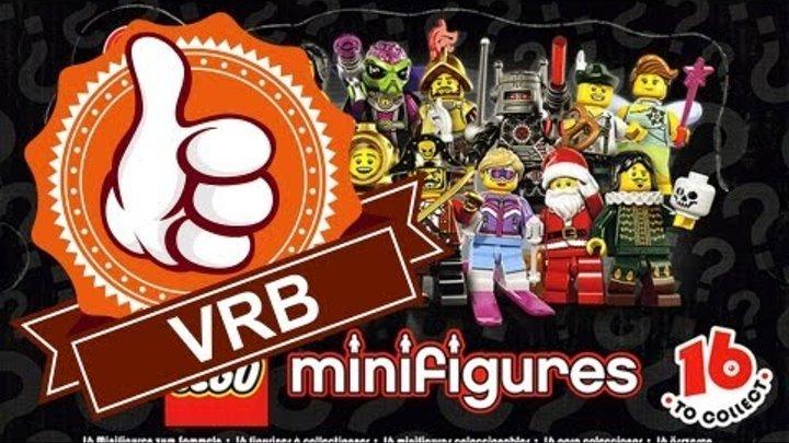 Обзор LEGO 8833, 8 серия коллекционных минифигурок.