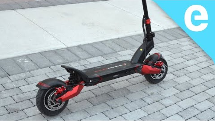 Review: Turbowheel Lightning 40 mph electric scooter