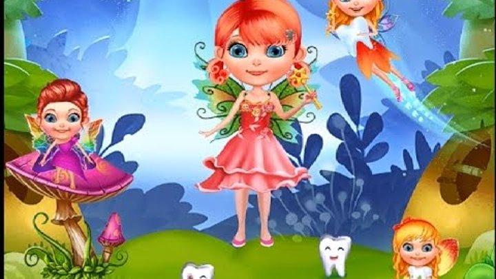 Маленькая зубная фея – Детский игровой мультик для детей! Little Tooth . Мобильные игры