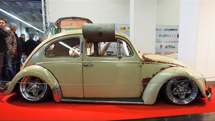 Volkswagen Ovali Kafer 1954 1200 ccm 30 ps 7j x R17 Swamp-cooler Tuning - Exterior Walkaround