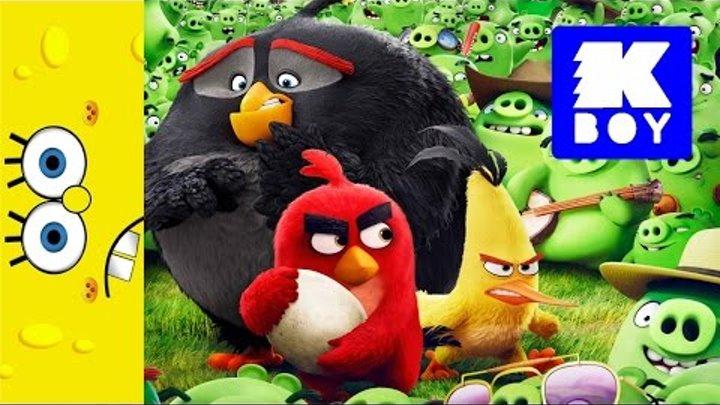 Энгри Бёрдс (Злые птички) коллекция игрушек Макдональд - Angry Birds collection of McDonald's toys