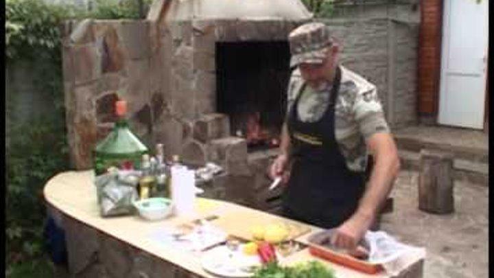 Мужская кухня Уха на костре