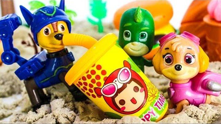 ЩЕНЯЧИЙ ПАТРУЛЬ новые серии На пикнике Мультик Герои в масках на русском Игрушки для детей PJ Masks