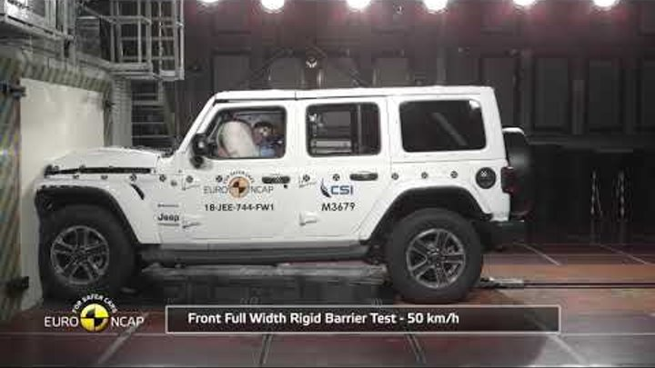 Euro NCAP Crash Test of Jeep Wrangler
