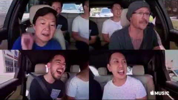 [FUNNY] Linkin Park Performs 'Hey Ya!' By OutKast [CARPOOL KARAOKE] feat. Ken Jeong