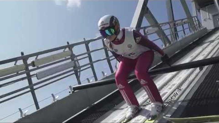 Russia ski jumping women team