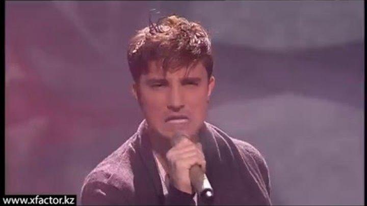 Владимир Новиков. Earth song. X Factor Казахстан. 6 концерт. Эпизод 15. Сезон 6.