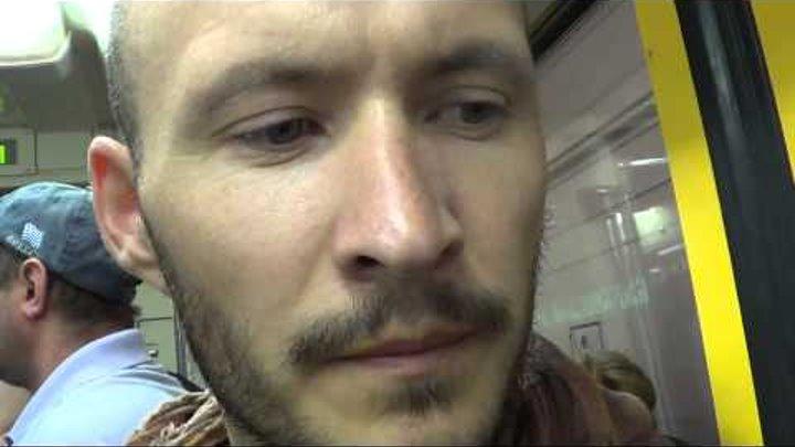 Адель в Москве 1 июля 2013 . Путь к поезду на Казанский вокзал