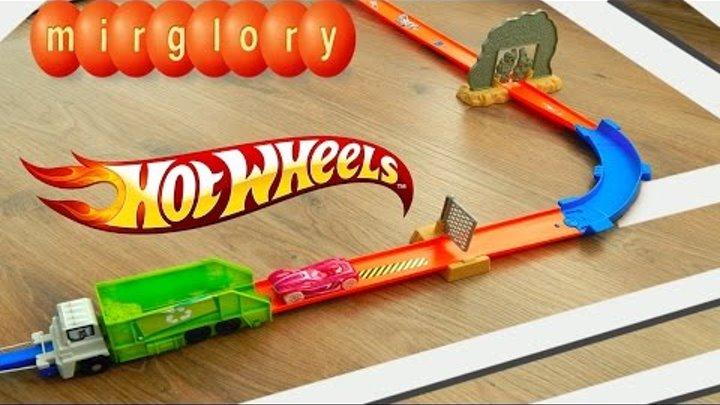 Машинки Трек Хот Вилс Видео для детей про игрушки Машинки для мальчиков mirglory