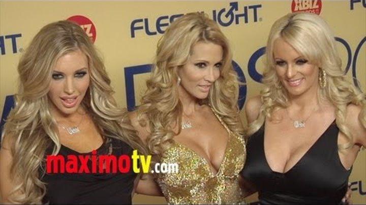 XBIZ Awards Alexis Texas, Kayden Kross, Jessica Drake, Vicky Vette