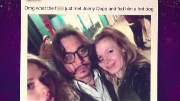 Джонни Депп и Бенедикт Камбербэтч. О комментариях в Реддит. Шоу Грэма Нортона