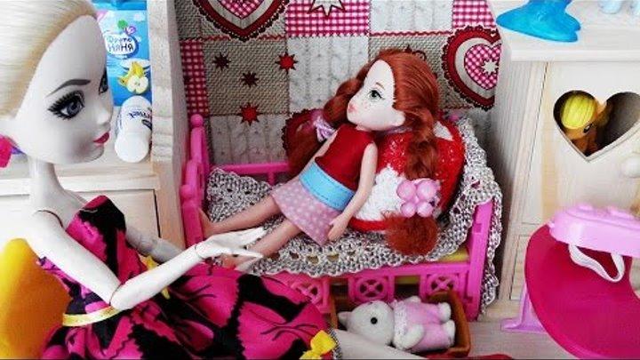 Мультик с куклами Барби и Эвер Афтер Хай. Элька и Май Литл Пони. Стоп моушен. Barbie. Куклы Шоу #22