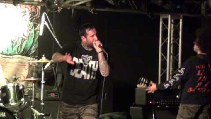 The Acacia Strain - Live at Zal Ozhidaniya 27.10.2012 (Part 1 of 3)
