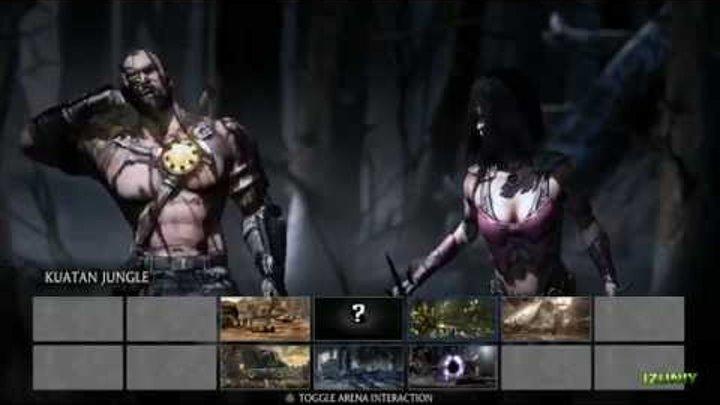 Mortal Kombat X Mileena Gameplay Fatalities X-Ray Variations - Mortal Kombat 10 Fatality