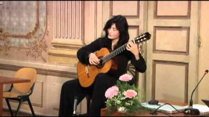 Filomena Moretti - Grande Sonata di Nicolò Paganini (1° mov.)