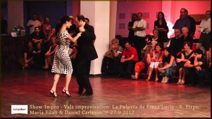 Tangobar | Maria Filali & Daniel Carlsson | Show-Impro 2012 (2/4)